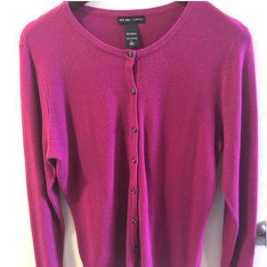 NY&Co. Pink Cardigan